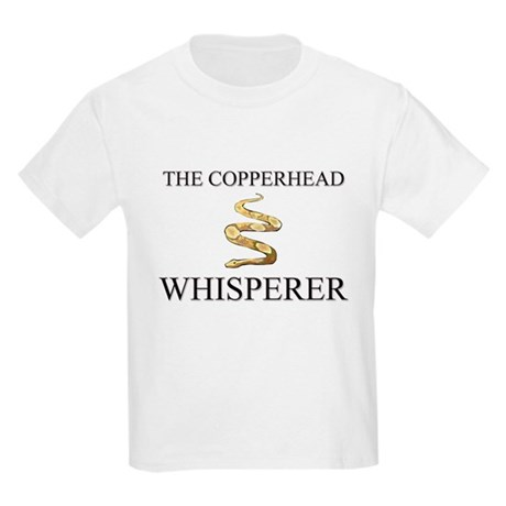 The Copperhead Whisperer Kids Light T-Shirt
