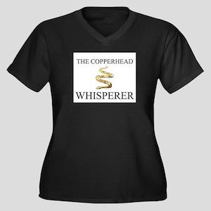 The Copperhead Whisperer Women's Plus Size V-Neck