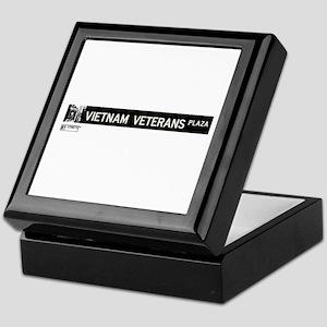 Vietnam Veterans Plaza in NY Keepsake Box