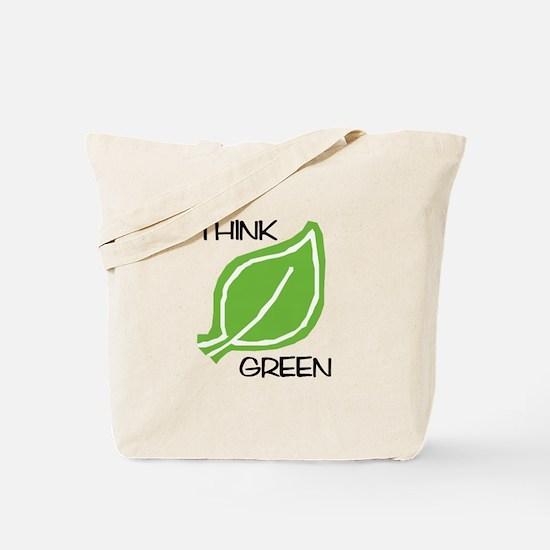 Think Green: Tote Bag