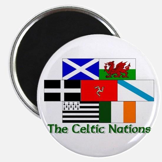 """Celtic Nations 2.25"""" Magnet (10 pack)"""