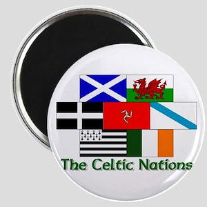 Celtic Nations Magnet