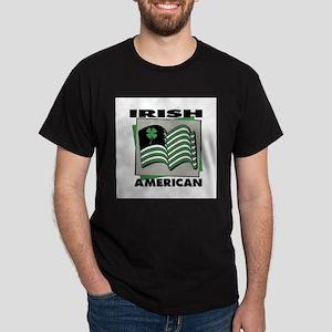 Irish American - Shamrock Dark T-Shirt