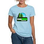 I LOVE GREEN Women's Light T-Shirt