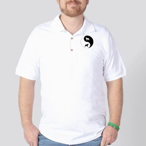 Yin Yang Bouvier Golf Shirt