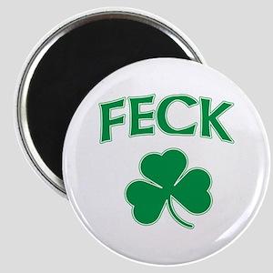 """Irish Feck 2.25"""" Magnet (10 pack)"""