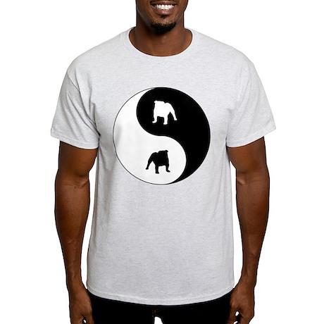 Yin Yang Bulldog Light T-Shirt