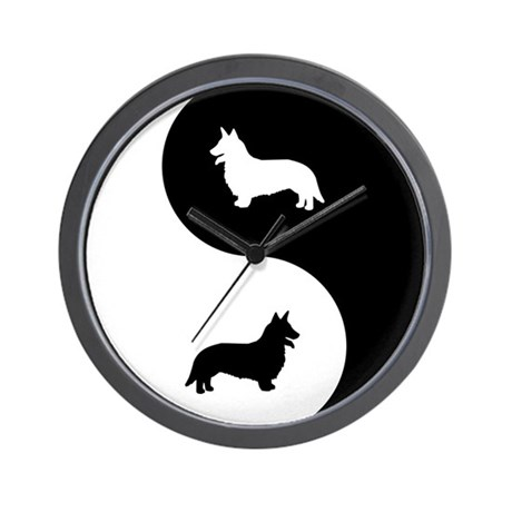 Yin Yang Cardigan Wall Clock
