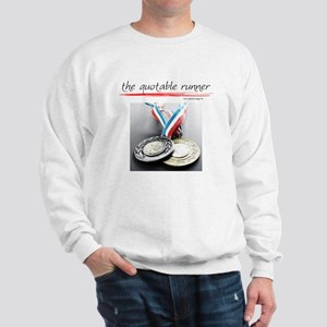 Emil Zatopek on Marathons Sweatshirt
