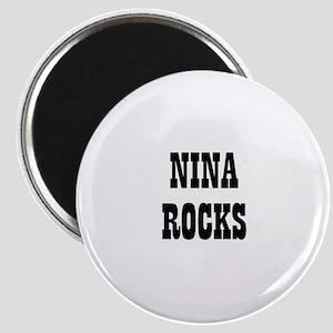NINA ROCKS Magnet