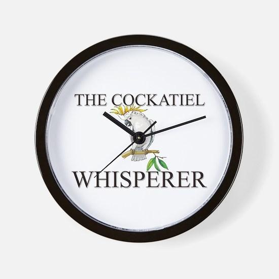 The Cockatiel Whisperer Wall Clock