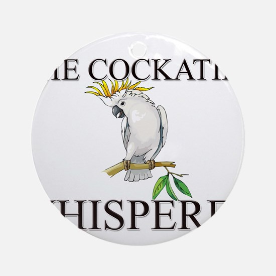 The Cockatiel Whisperer Ornament (Round)