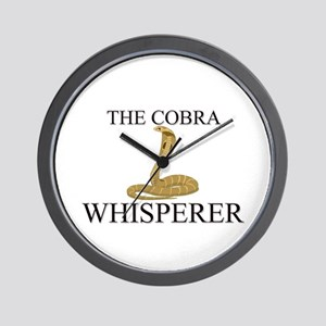The Cobra Whisperer Wall Clock