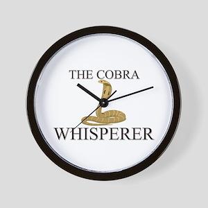 The Cobra Whisperer Wall Clock