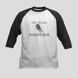 The Cicada Whisperer Kids Baseball Jersey