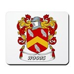 Woods Coat of Arms Mousepad