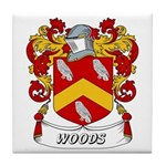 Woods Coat of Arms Tile Coaster