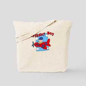 3rd Birthday Airplane Tote Bag