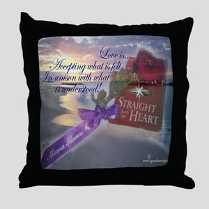 Love is Accepting Throw Pillow