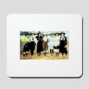 Cowgirls! Mousepad