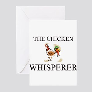 The Chicken Whisperer Greeting Cards (Pk of 10)