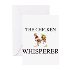 The Chicken Whisperer Greeting Cards (Pk of 10)