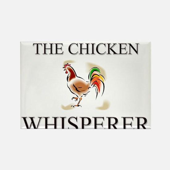 The Chicken Whisperer Rectangle Magnet