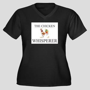 The Chicken Whisperer Women's Plus Size V-Neck Dar