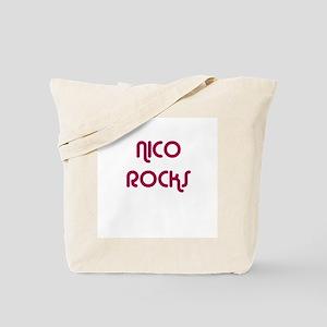 NICO ROCKS Tote Bag