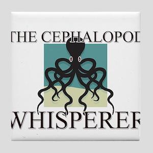 The Cephalopod Whisperer Tile Coaster
