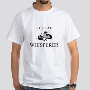 The Cat Whisperer White T-Shirt