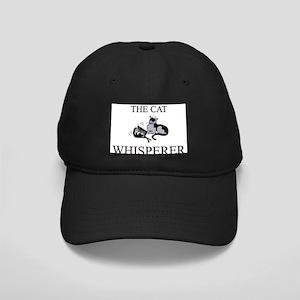 The Cat Whisperer Black Cap
