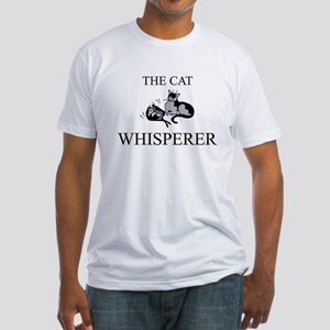 The Cat Whisperer Fitted T-Shirt