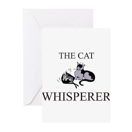 The Cat Whisperer Greeting Cards (Pk of 10)