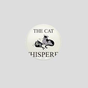 The Cat Whisperer Mini Button