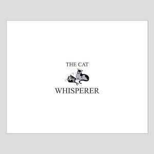 The Cat Whisperer Small Poster