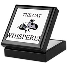 The Cat Whisperer Keepsake Box