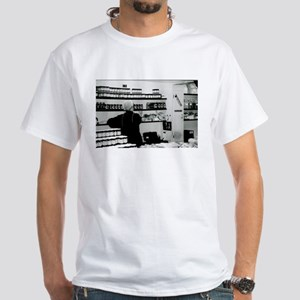 amish central market lancaste White T-Shirt