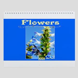 """""""Flowers"""" Wall Calendar"""