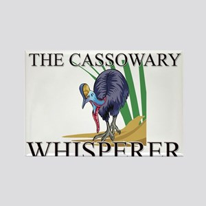 The Cassowary Whisperer Rectangle Magnet
