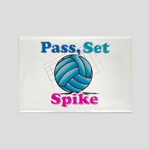 Pass set spike Rectangle Magnet