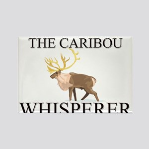The Caribou Whisperer Rectangle Magnet