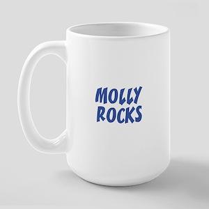 MOLLY ROCKS Large Mug