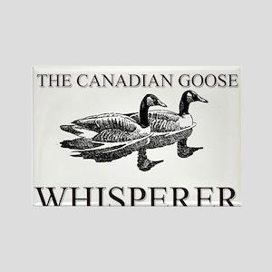 The Canadian Goose Whisperer Rectangle Magnet