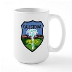 Calistoga Police Large Mug