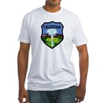 Calistoga Police Fitted T-Shirt