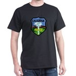 Calistoga Police Dark T-Shirt