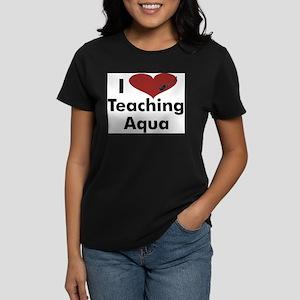 I_heart_teaching_aqua T-Shirt