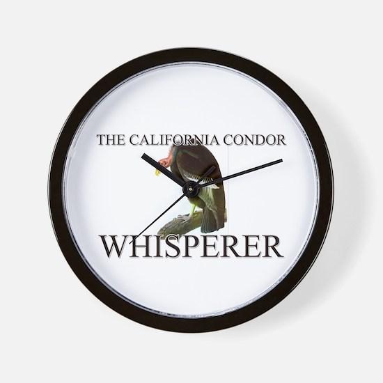 The California Condor Whisperer Wall Clock