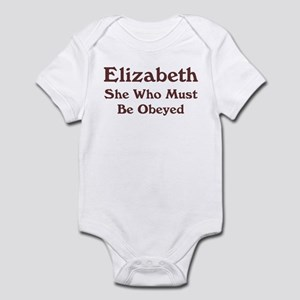 Personalized Elizabeth Infant Bodysuit